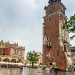 Main square of old town in Cracow — Stock Photo #28936253