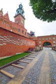 Royal Wawel Castle in Cracow — Stock Photo