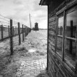 Stock Photo: Majdanek concentration camp in Lublin, Poland