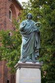 Monument of Nicolaus Copernicus in Torun — Stock Photo