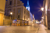 Vieille ville de Torun nuit — Photo
