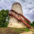 Tower of the castle in Kazimierz Dolny — Stock Photo