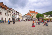 Old town of Kazimierz Dolny in Poland — Stock Photo
