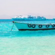 Boat on the Egyptian Red Sea — Stock Photo #31760379