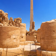 Obelisk of Queen Hapshetsut in Karnak — Stock Photo #31761111