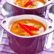 Thai Red Curry soup — Stock Photo