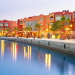 Beautiful architecture of Hurghada Marina — Stock Photo #31837443