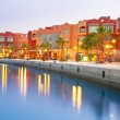 Stock Photo: Beautiful architecture of Hurghada Marina