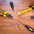 Set of tools for home renovation — Stock Photo #31992655