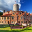 Stock Photo: Wisloujscie fortress in Gdansk
