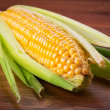 Fresh corncob — Stock Photo