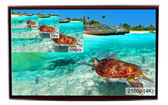 4K television display — Stock Photo