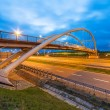 Architecture of highway viaduct at night — Stock Photo #35832701