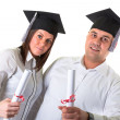 Happy graduating students — Stock Photo #37390995