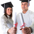 Happy graduating students — Stock Photo #37391565