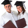 Happy graduating students — Stock Photo #37391603