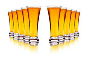 Lager beers — Stock Photo