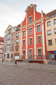 Old town in Elblag, Poland — Stock Photo