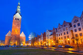 St. Nicholas Cathedral in Elblag — Stock Photo