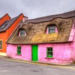 Cottage house in Ireland — Stock Photo