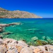 Stock Photo: Turquise water of Mirabello bay on Crete