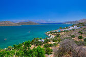 Scenery of Mirabello Bay on Crete — Stock Photo
