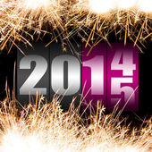 Happy New Year 2015 — Foto Stock