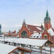 Stock Photo: Main railway station in city center of Gdansk