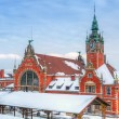 Main railway station in Gdansk, Poland — Stock Photo