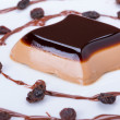 Coffee panncottdessert — Stock Photo #41484083