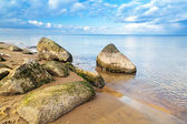 Calm Baltic sea scenery at winter time — Stock Photo
