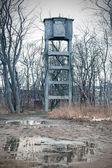 Gun tower on the historic Westerplatte peninsula — Stock Photo