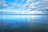 Calm Baltic sea with blue sky — Stock Photo