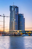 Sea Towers skyscraper in Gdynia — Stock Photo