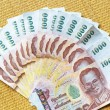 Thai baht money — Stock Photo