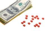 Drugs for money deal — Stock Photo