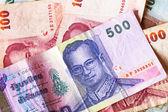 Thai baht money — Stock Photo