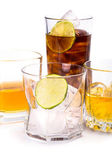 Selection of whiskey — Stock Photo