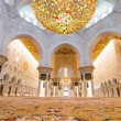 Interior of Sheikh Zayed Grand Mosque in Abu Dhabi — Stock Photo #44934581