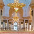Interior of Sheikh Zayed Grand Mosque in Abu Dhabi — Stock Photo #44934681