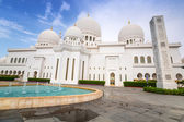 Sheikh zayed grote moskee in abu dhabi — Stockfoto