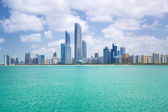 Panorama of Abu Dhabi, UAE — Stock Photo