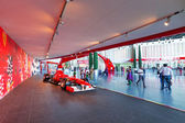 Ferrari World at Yas Island in Abu Dhabi — Stock Photo