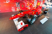 Ferrari World at Yas Island in Abu Dhabi — Foto Stock