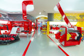 Ferrari World at Yas Island in Abu Dhabi — Foto Stock