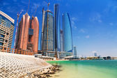 Scenery of Abu Dhabi city — Stock Photo
