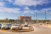 Emirates Palace hotel in Abu Dhabi, UAE — Stock Photo