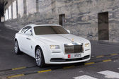 Rolls-Royce Wraith in Abu Dhabi — Stock Photo