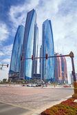 Etihad Towers buildings in Abu Dhabi, UAE — Stock Photo