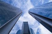 Etihad Towers buildings in Abu Dhabi, UAE — Stockfoto